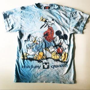 RARE! Vintage Walt Disney Mickey Mouse tie dye tee